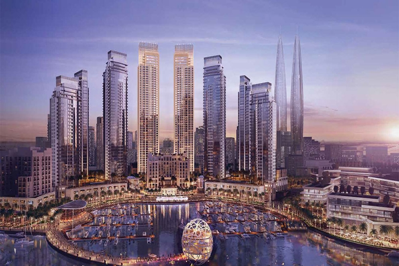 2 Bedroom Apartment For Sale in  Harbour Views 1,  Dubai Creek Harbour (The Lagoons) | 8