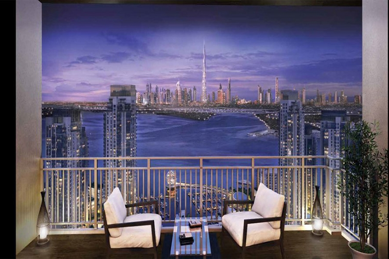 2 Bedroom Apartment For Sale in  Harbour Views 1,  Dubai Creek Harbour (The Lagoons) | 10