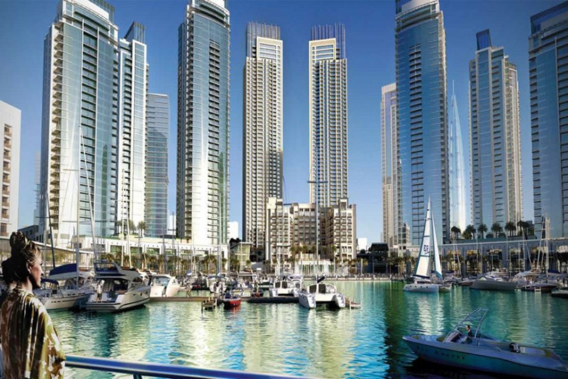 2 Bedroom Apartment For Sale in  Harbour Views 1,  Dubai Creek Harbour (The Lagoons) | 12