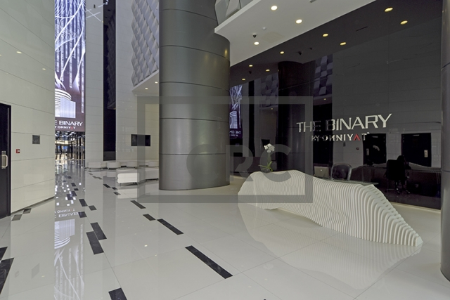 retail for rent in business bay, the binary tower | 13
