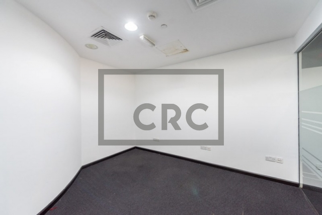 office for rent in dubai media city, shatha tower | 3