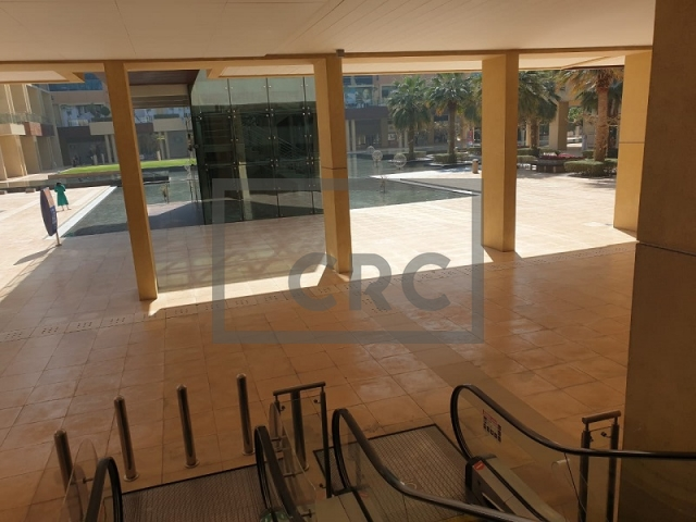 furnished retail for rent in business bay, bay square building 7 | 6