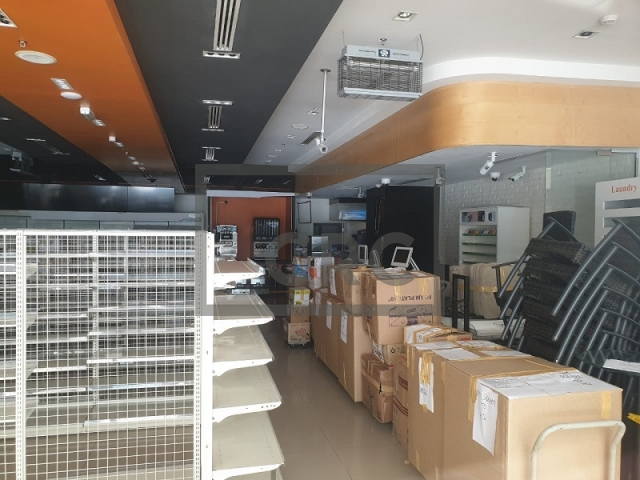 furnished retail for rent in business bay, bay square building 7 | 11