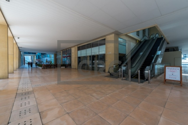 furnished retail for rent in business bay, bay square building 7 | 4