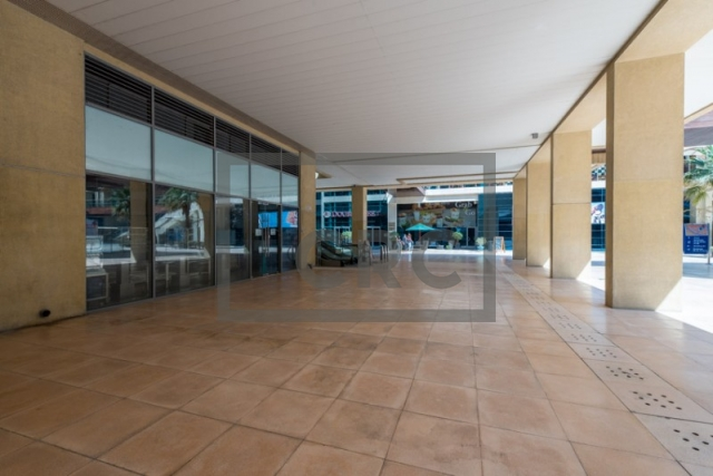 furnished retail for rent in business bay, bay square building 7 | 1