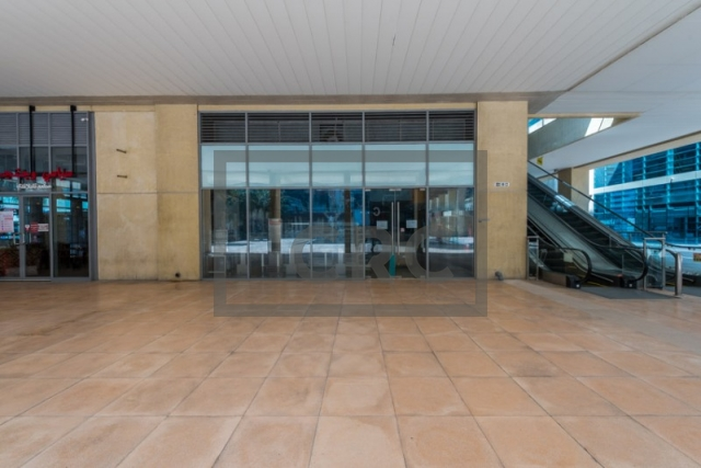 furnished retail for rent in business bay, bay square building 7 | 5