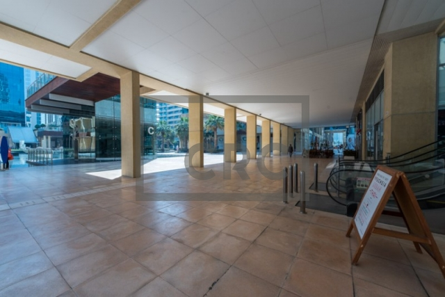 furnished retail for rent in business bay, bay square building 7 | 2