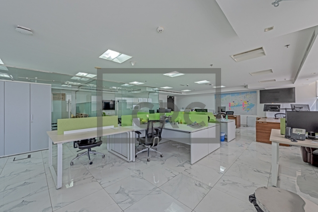 11,918 sq.ft. Office in Jumeirah Lake Towers, Mazaya Business Avenue Bb2 for AED 7,400,000