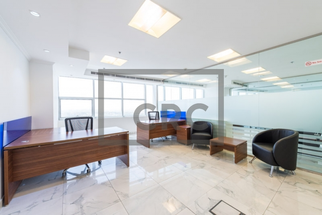 furnished office for sale in jumeirah lake towers, mazaya business avenue bb2 | 7