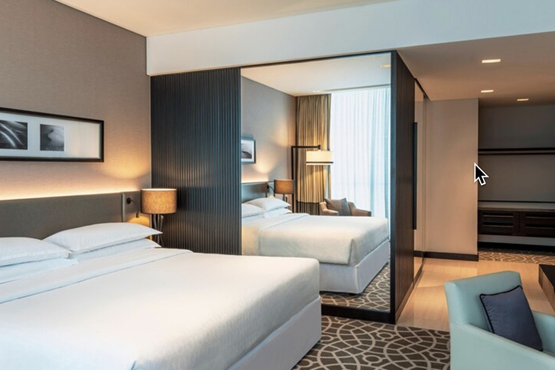 2 Bedroom Hotel Apartment For Rent in  Sheraton Grand Hotel,  Sheikh Zayed Road   4