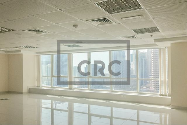 1,035 sq.ft. Office in Jumeirah Lake Towers, Fortune Tower for AED 615,000