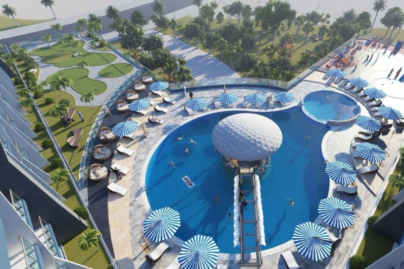 Studio Apartment For Sale in  Samana Golf Avenue,  Dubai Studio City   7