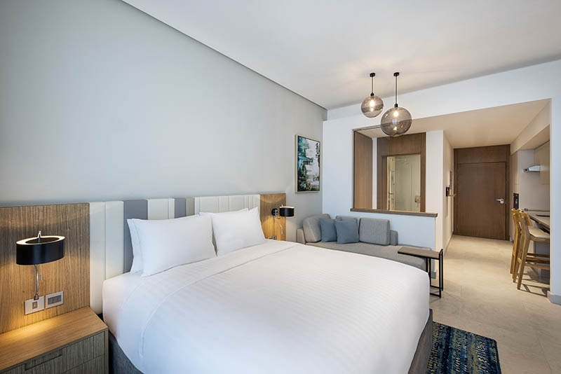 Studio Hotel Apartment For Rent in  Residence Inn by Marriott Al Jaddaf,  Al Jaddaf | 2