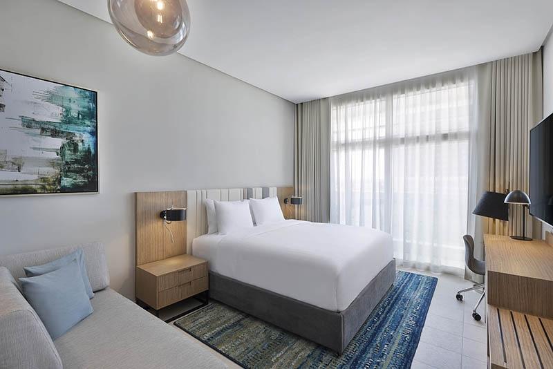 Studio Hotel Apartment For Rent in  Residence Inn by Marriott Al Jaddaf,  Al Jaddaf | 1