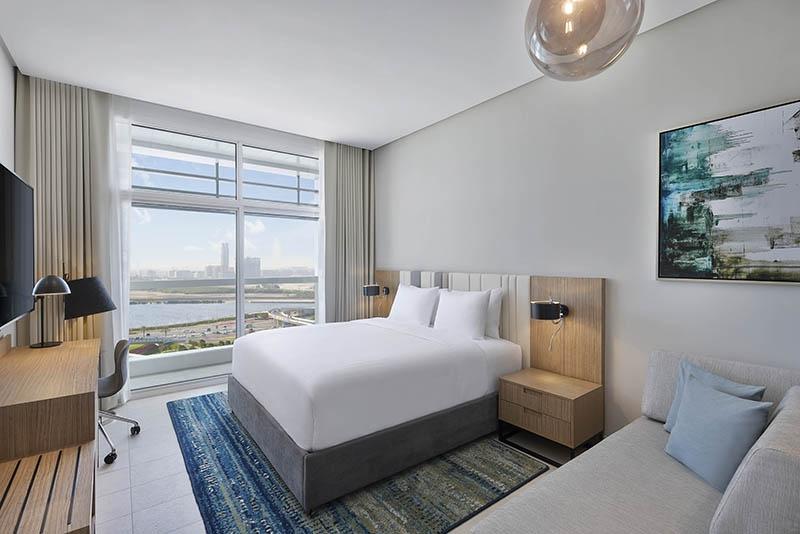 Studio Hotel Apartment For Rent in  Residence Inn by Marriott Al Jaddaf,  Al Jaddaf | 0