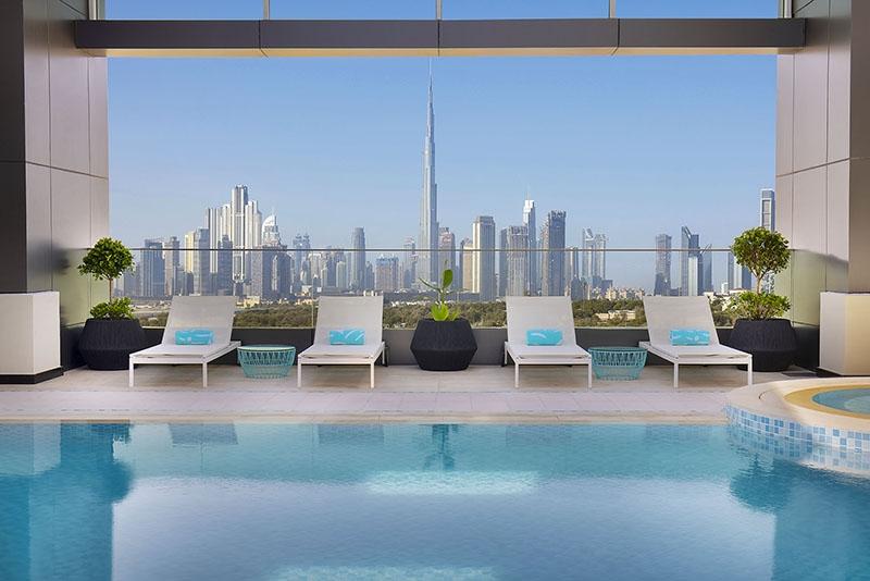 Studio Hotel Apartment For Rent in  Residence Inn by Marriott Al Jaddaf,  Al Jaddaf | 7