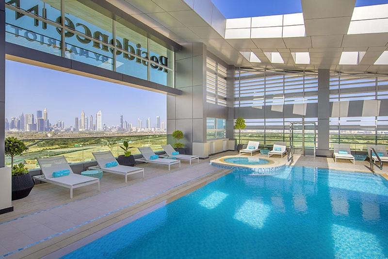 Studio Hotel Apartment For Rent in  Residence Inn by Marriott Al Jaddaf,  Al Jaddaf | 11