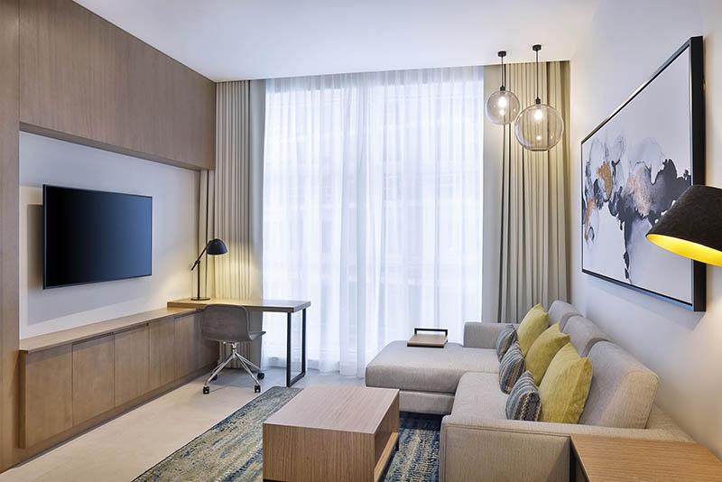 1 Bedroom Hotel Apartment For Rent in  Residence Inn by Marriott Al Jaddaf,  Al Jaddaf   1