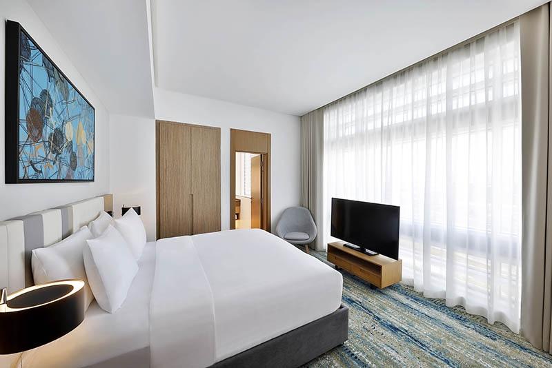 2 Bedroom Hotel Apartment For Rent in  Residence Inn by Marriott Al Jaddaf,  Al Jaddaf   9