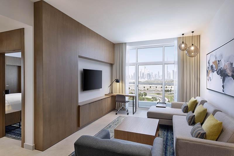 2 Bedroom Hotel Apartment For Rent in  Residence Inn by Marriott Al Jaddaf,  Al Jaddaf   11