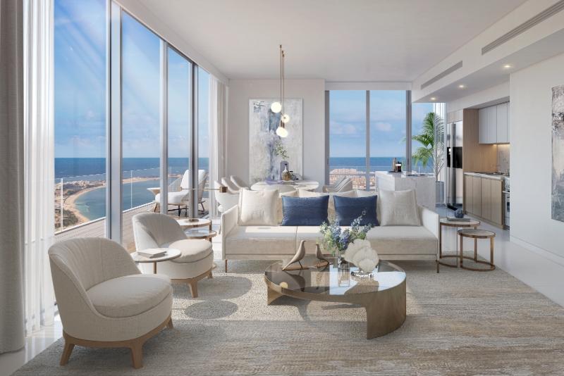 2 Bedroom Apartment For Sale in  Beach Isle,  EMAAR Beachfront | 2