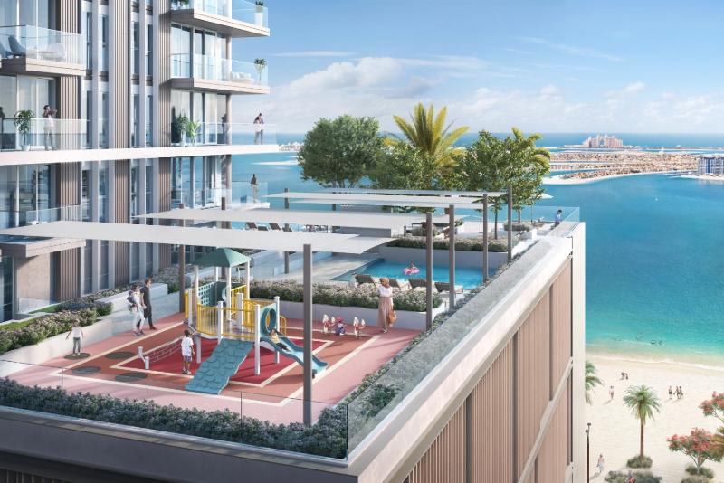 2 Bedroom Apartment For Sale in  Beach Isle,  EMAAR Beachfront | 3