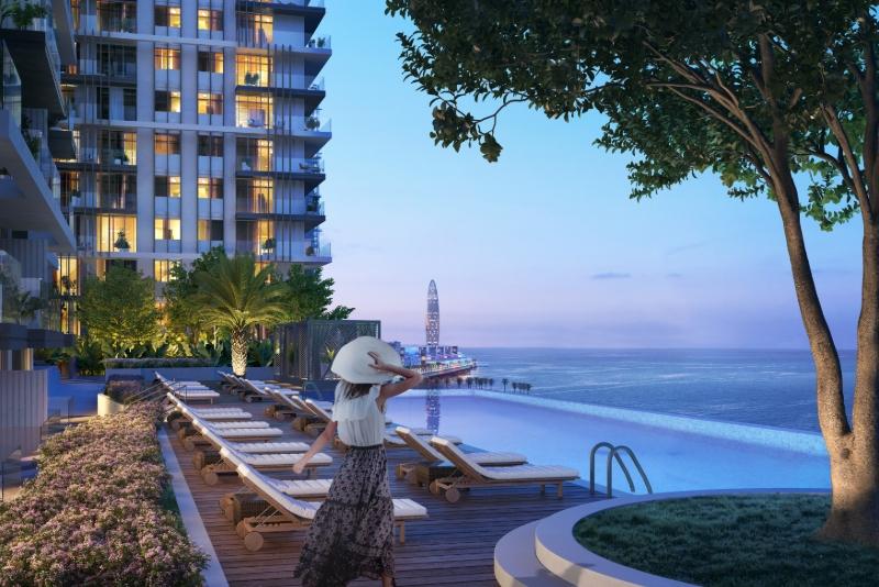 2 Bedroom Apartment For Sale in  Beach Isle,  EMAAR Beachfront | 9