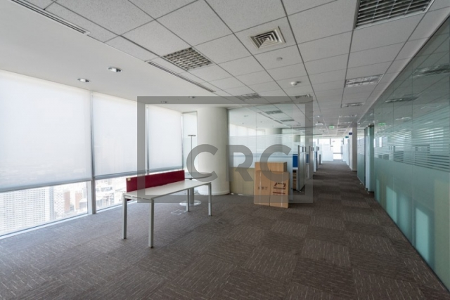 office for rent in business bay, ubora tower 1 | 2