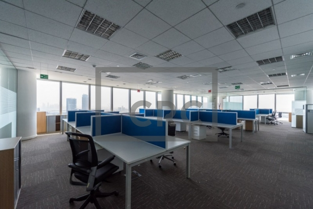 office for rent in business bay, ubora tower 1 | 1