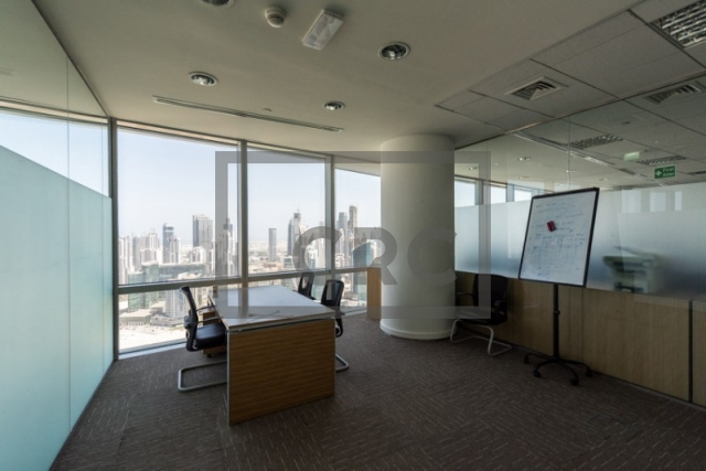 office for rent in business bay, ubora tower 1 | 15