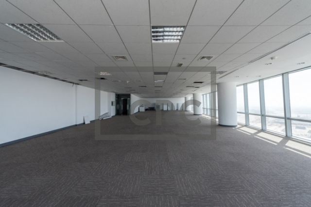4,144 sq.ft. Office in Business Bay, Ubora Tower 1 for AED 559,440
