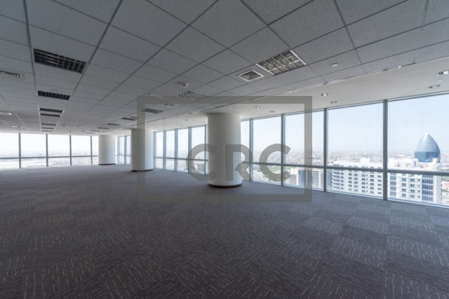 office for rent in business bay, ubora tower 1 | 7