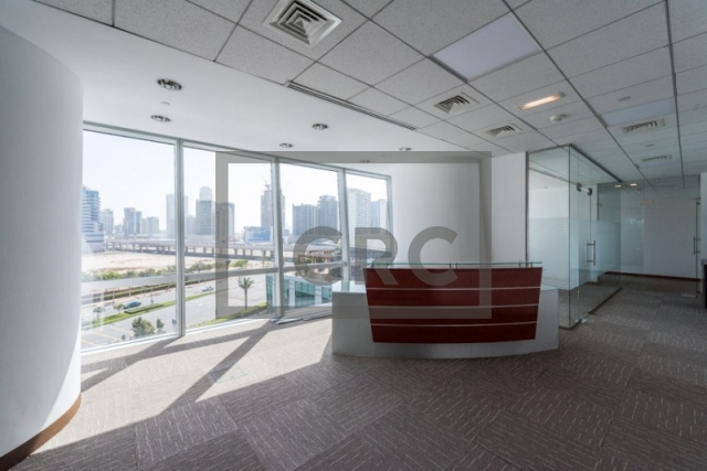 3,497 sq.ft. Office in Business Bay, Ubora Tower 1 for AED 472,095