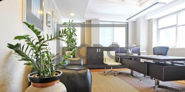furnished office for sale in business bay, executive tower d(aspect) | 1