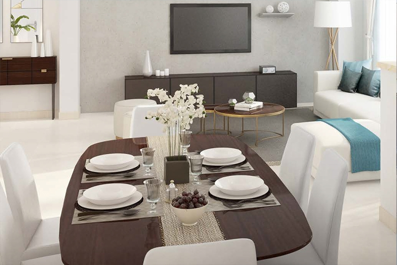 3 Bedroom Villa For Sale in  Safi Townhouses,  Town Square   4