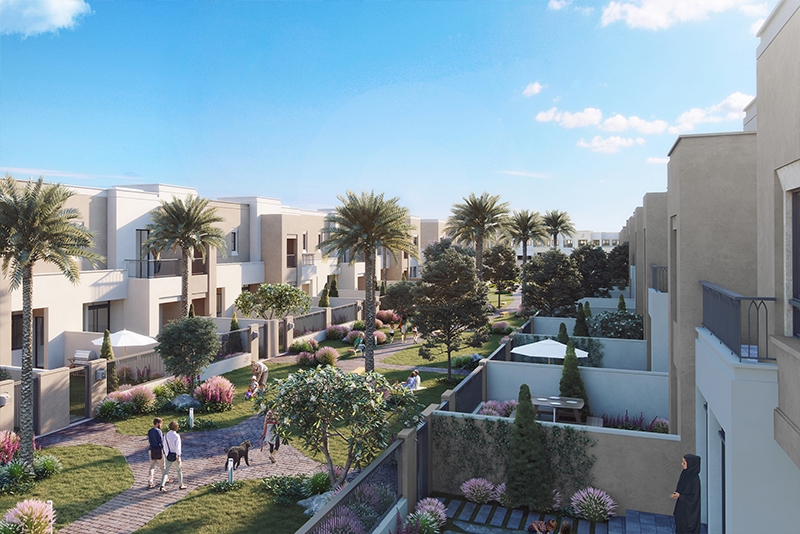3 Bedroom Villa For Sale in  Safi Townhouses,  Town Square   11