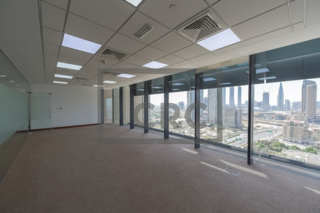 1,370 sq.ft. Office in DIFC, Index for AED 247,000