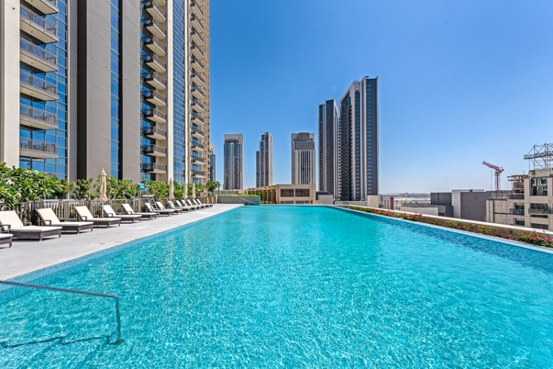 2 Bedroom Apartment For Rent in  Creekside 18 Tower A,  Dubai Creek Harbour (The Lagoons) | 9
