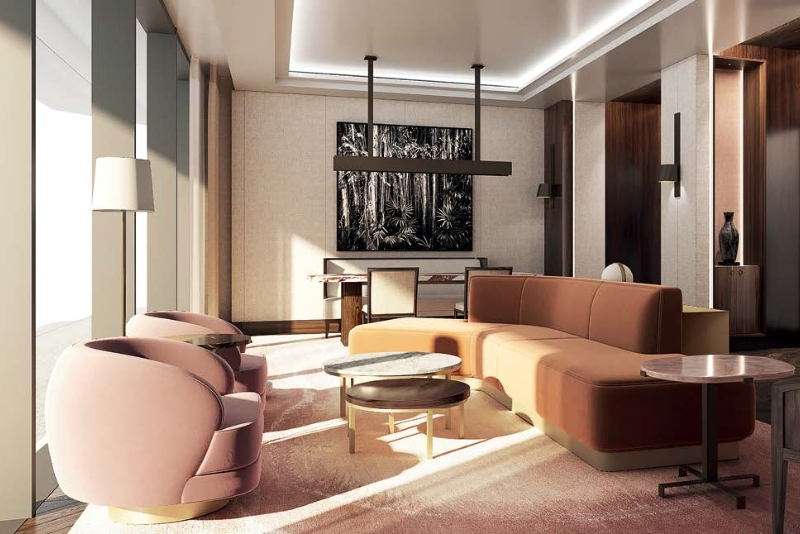 Studio Duplex For Sale in  The Dorchester Collection Hotel & Residences,  Business Bay | 10