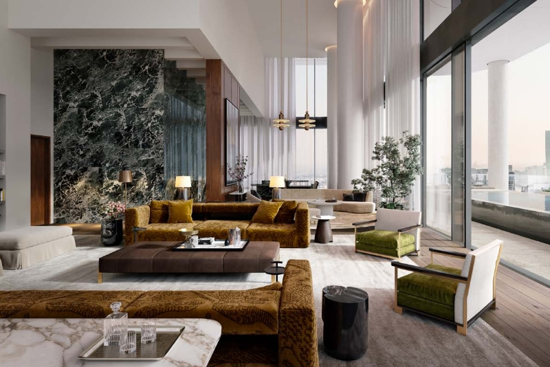 Studio Duplex For Sale in  The Dorchester Collection Hotel & Residences,  Business Bay | 12
