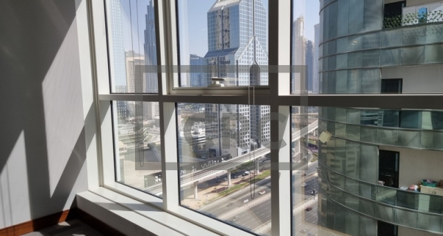 office for rent in sheikh zayed road, aspin commercial tower   4