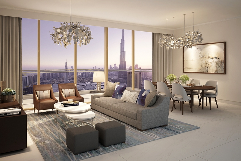 1 Bedroom Apartment For Sale in  Downtown Views II,  Downtown Dubai | 1