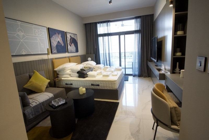 Studio Apartment For Rent in  MAG 318,  Business Bay | 0