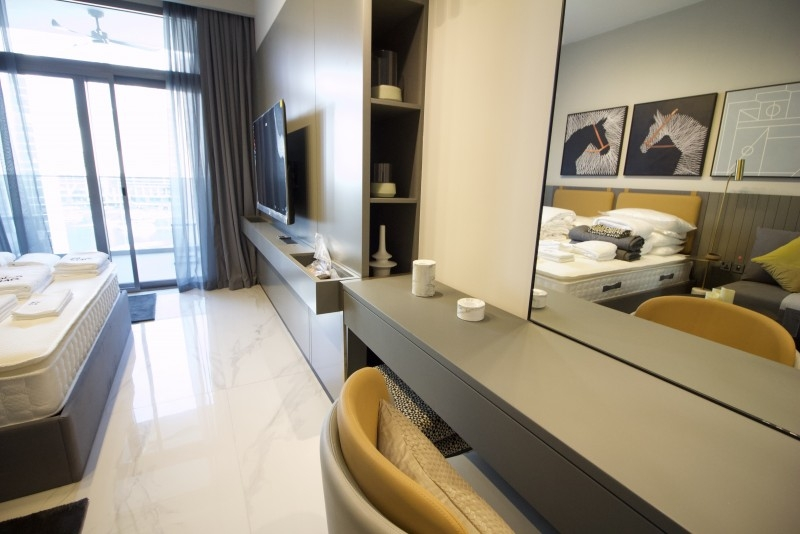 Studio Apartment For Rent in  MAG 318,  Business Bay | 2