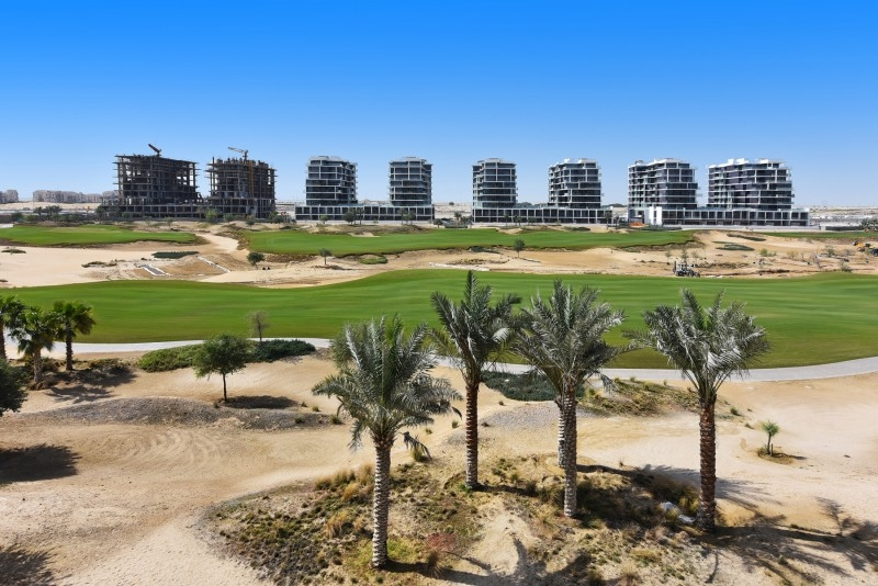 Studio Apartment For Rent in  Golf Promenade 4B,  DAMAC Hills (Akoya by DAMAC)   10