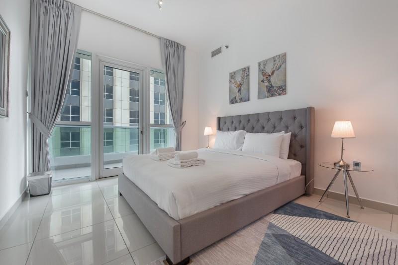 1 Bedroom Apartment For Short Term Rental in  Marina Pinnacle,  Dubai Marina   5