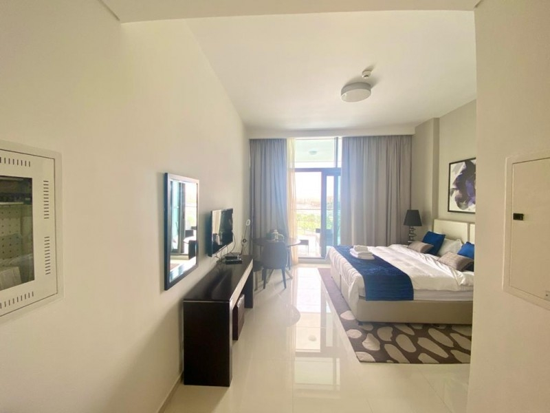 Studio Apartment For Sale in  Golf Promenade 2A,  Akoya   6