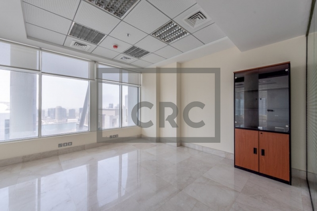 office for rent in business bay, clover bay tower | 6
