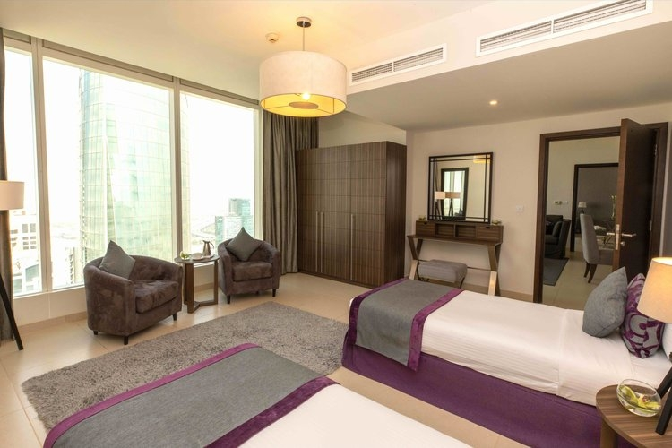 2 Bedroom Apartment For Short Term Rental in  Nassima Tower,  Sheikh Zayed Road | 2