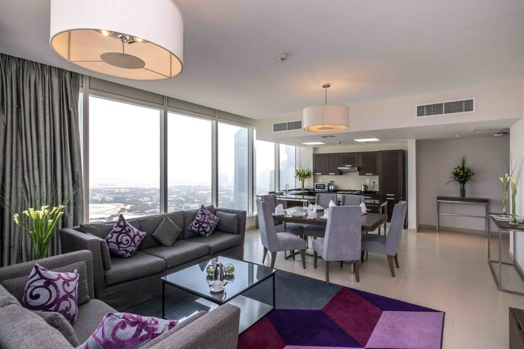 2 Bedroom Apartment For Short Term Rental in  Nassima Tower,  Sheikh Zayed Road | 1